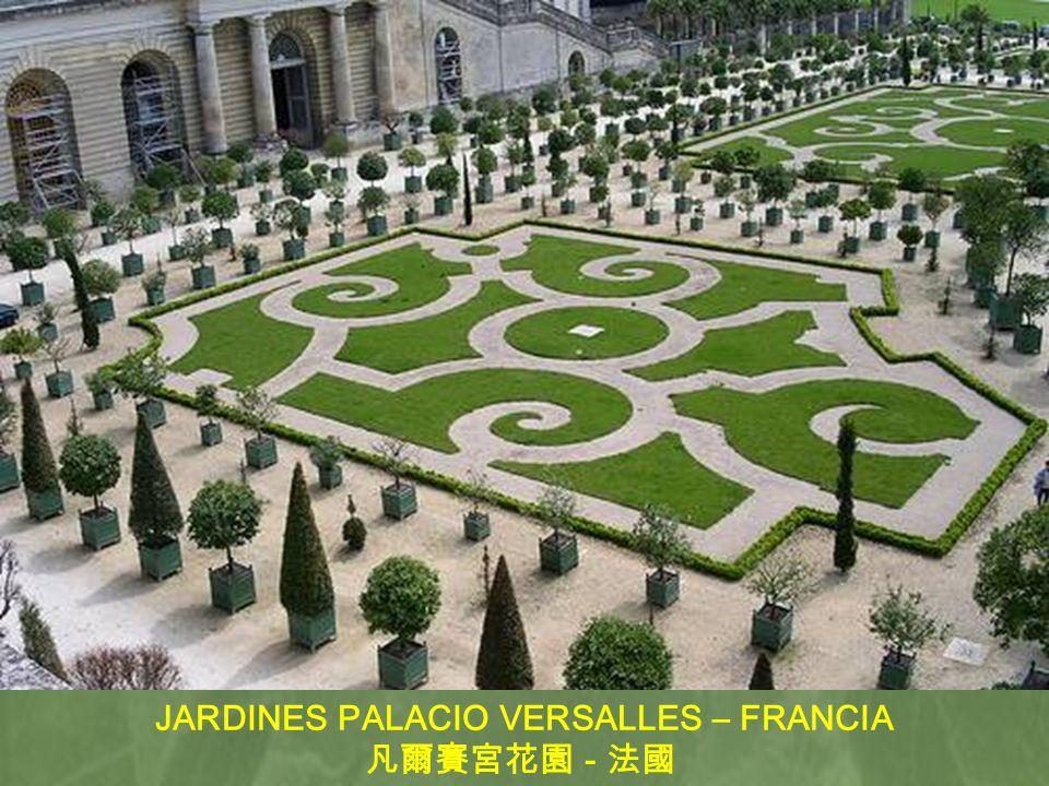 JARDINES PALACIO VERSALLES – FRANCIA