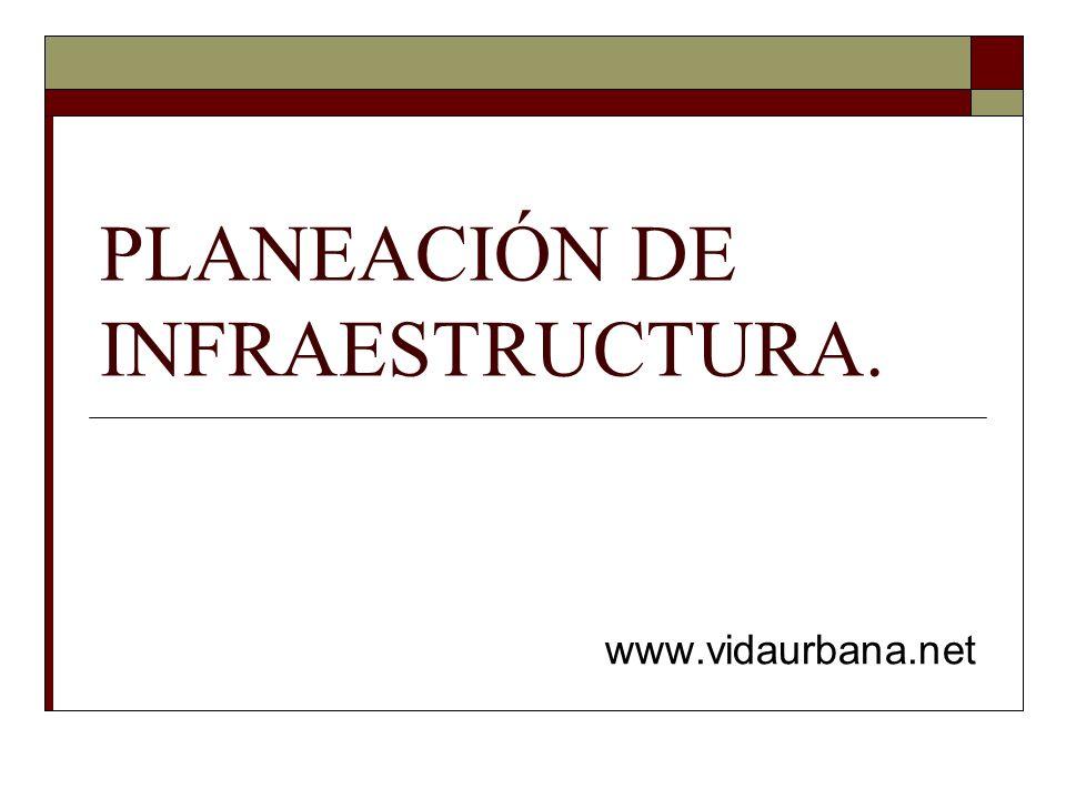 PLANEACIÓN DE INFRAESTRUCTURA.