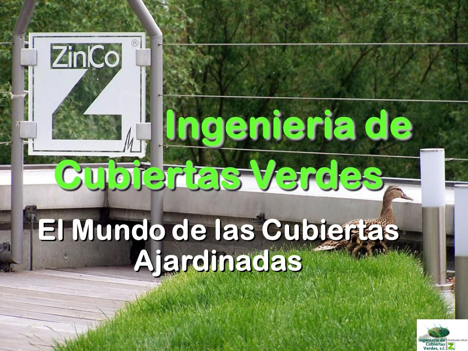 Ingenieria de Cubiertas Verdes El Mundo de las Cubiertas Ajardinadas