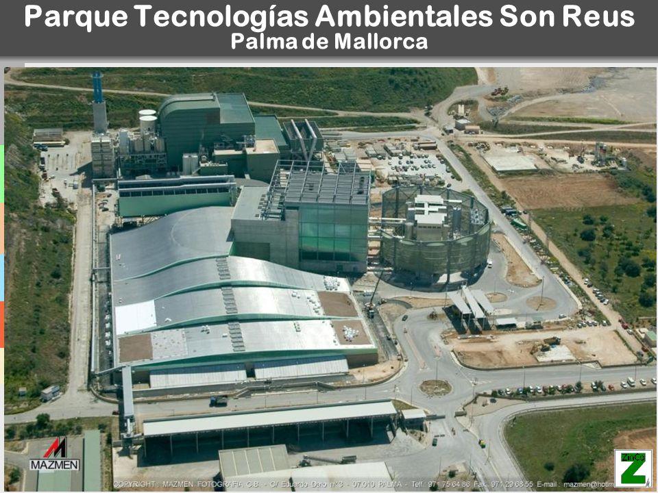Parque Tecnologías Ambientales Son Reus Palma de Mallorca