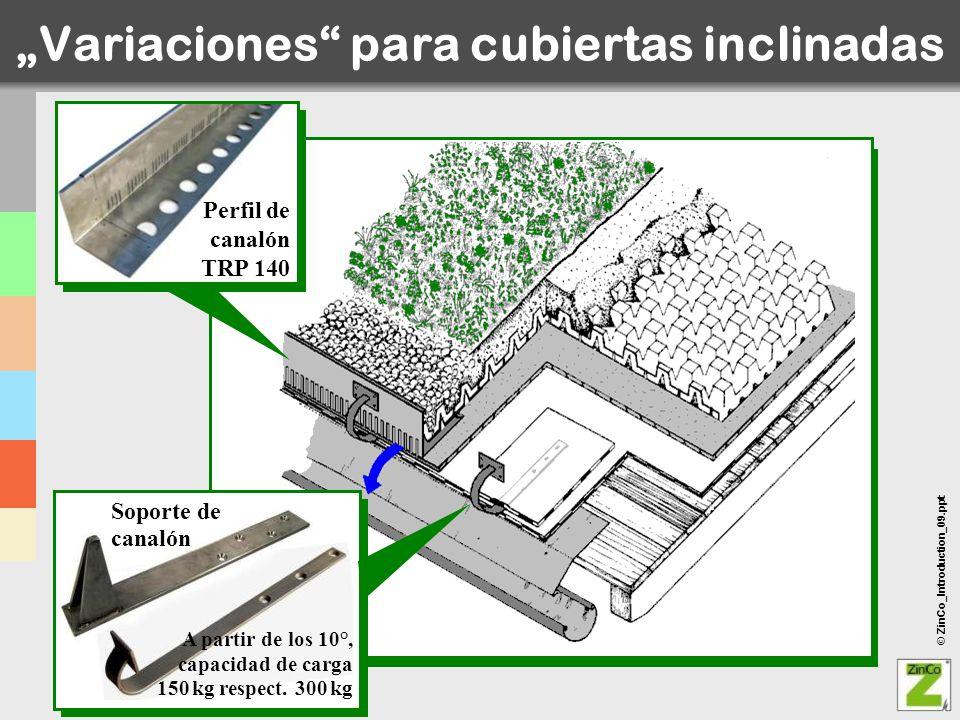 """""""Variaciones para cubiertas inclinadas"""