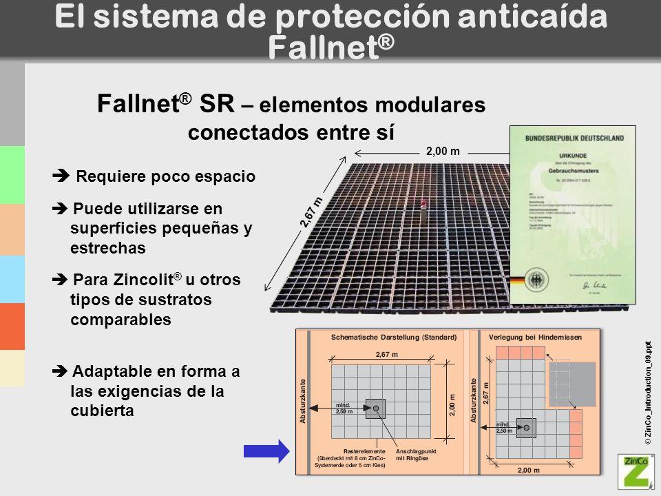 El sistema de protección anticaída Fallnet®