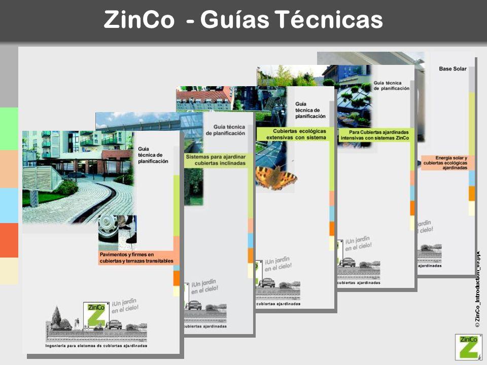 ZinCo - Guías Técnicas