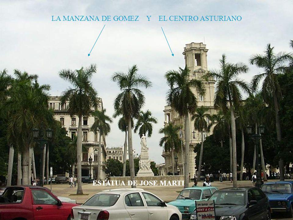 LA MANZANA DE GOMEZ Y EL CENTRO ASTURIANO