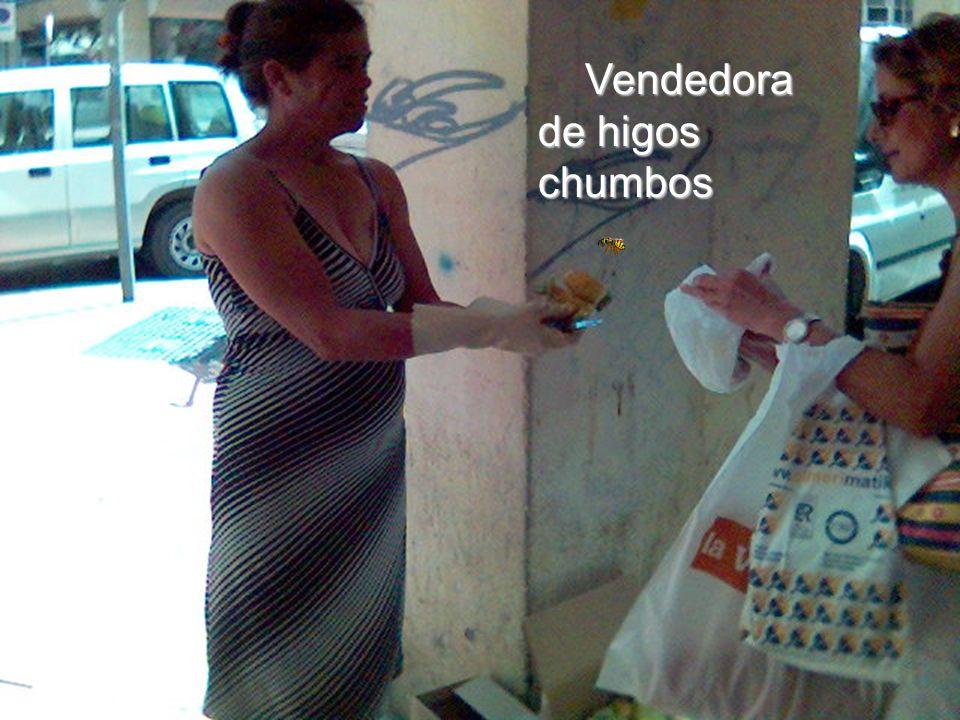 Vendedora de higos chumbos