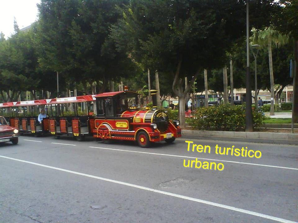 Tren turístico urbano