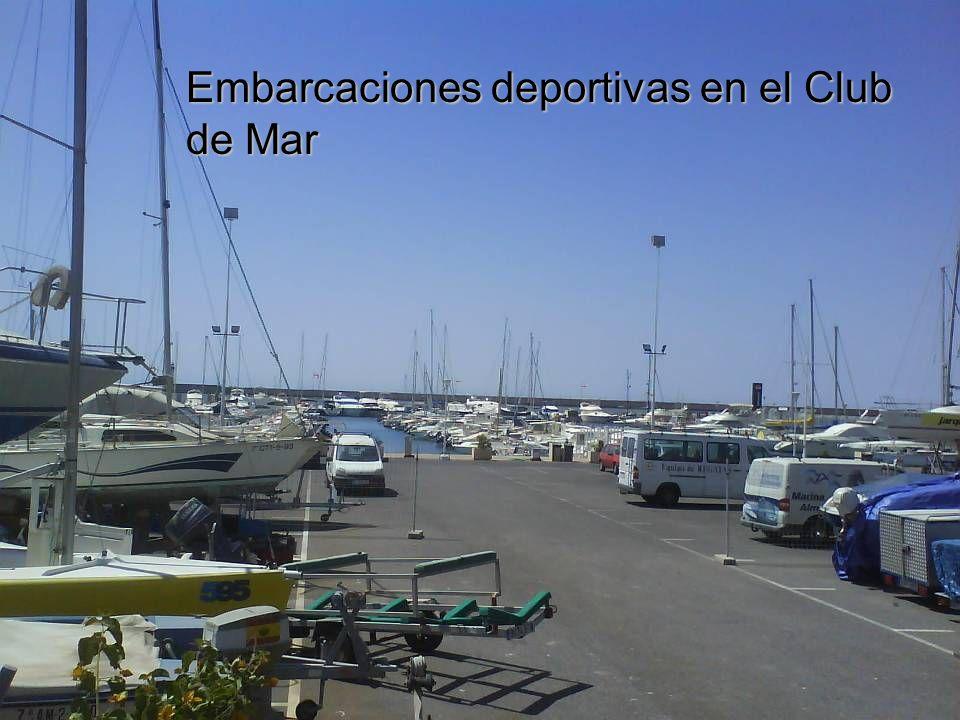 Embarcaciones deportivas en el Club de Mar