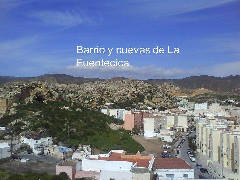 Barrio y cuevas de La Fuentecica
