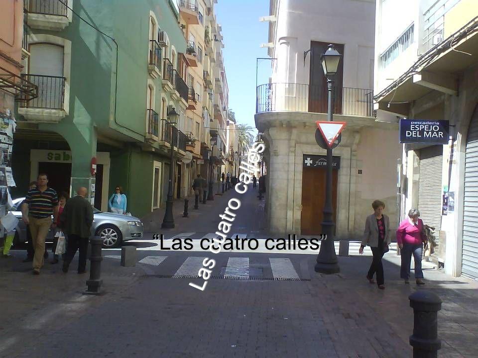 Las cuatro calles Las cuatro calles