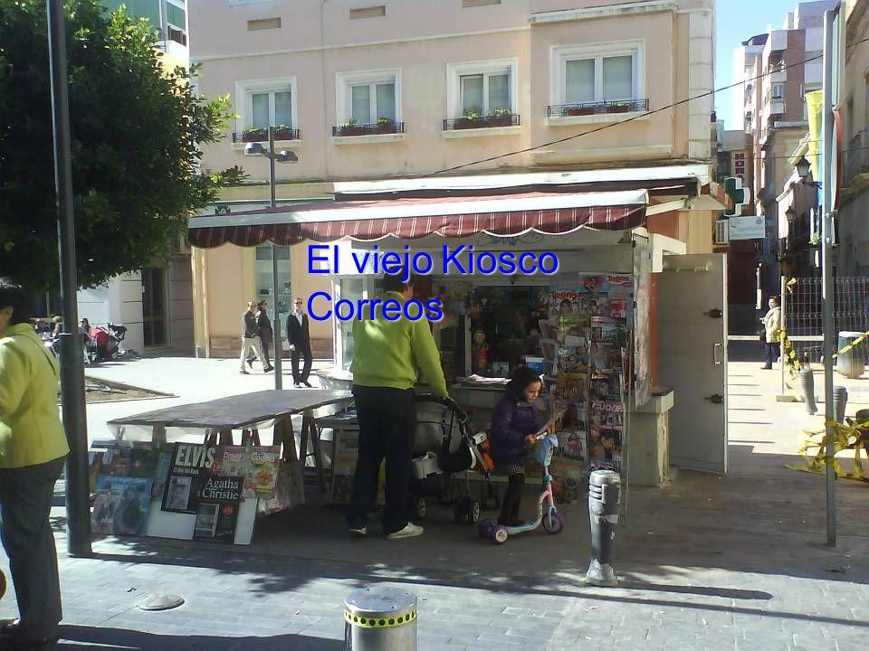 El viejo Kiosco Correos