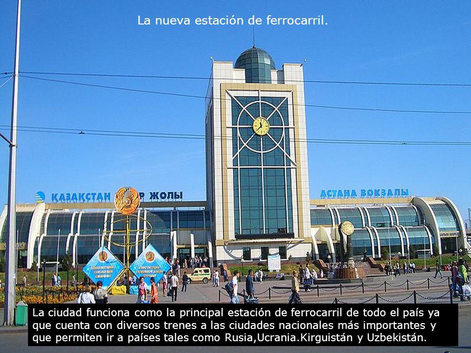 La nueva estación de ferrocarril.