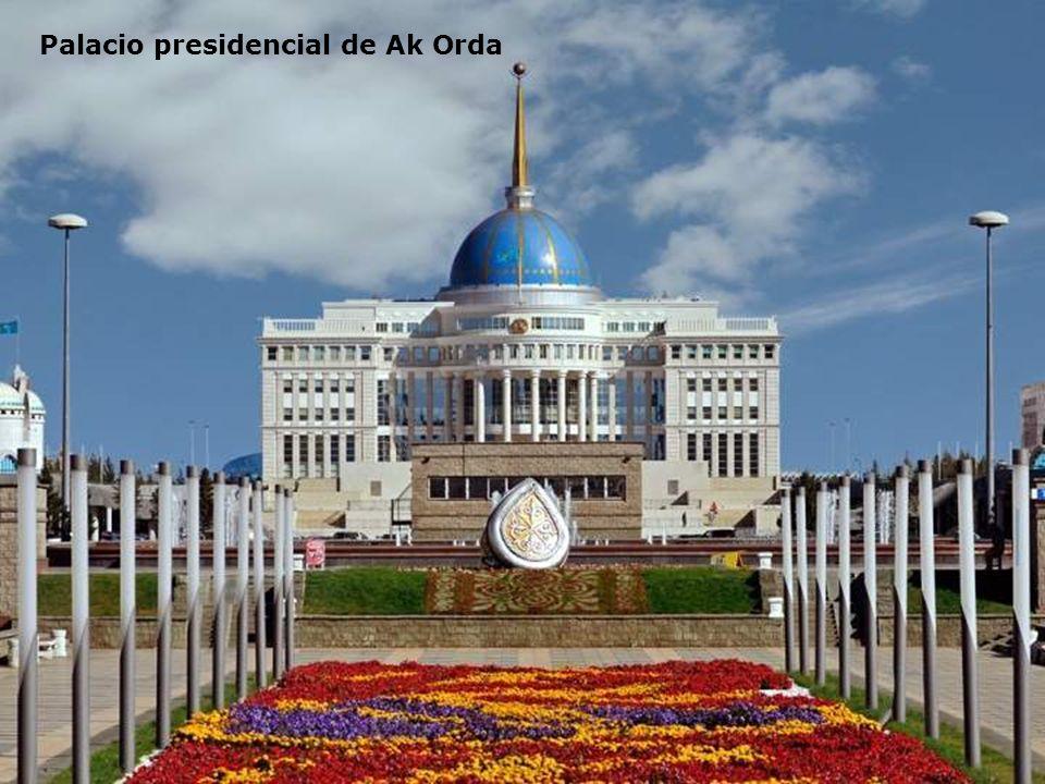 Palacio presidencial de Ak Orda