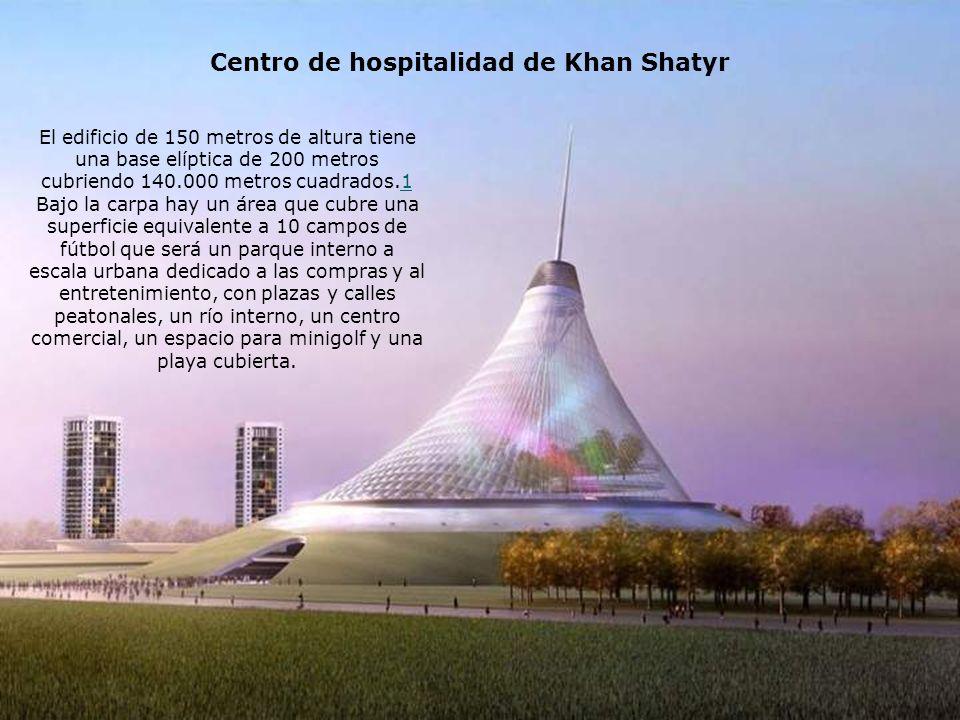 Centro de hospitalidad de Khan Shatyr