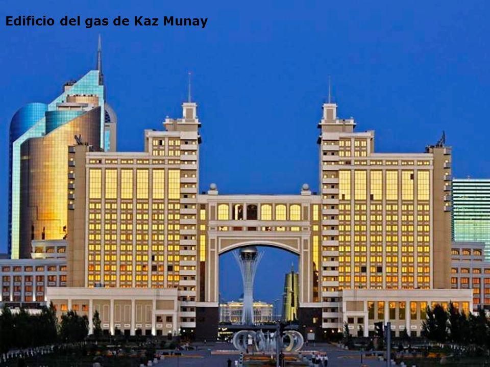 Edificio del gas de Kaz Munay