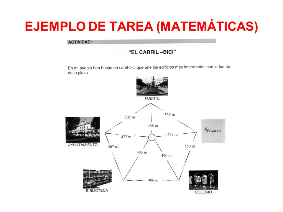 EJEMPLO DE TAREA (MATEMÁTICAS)