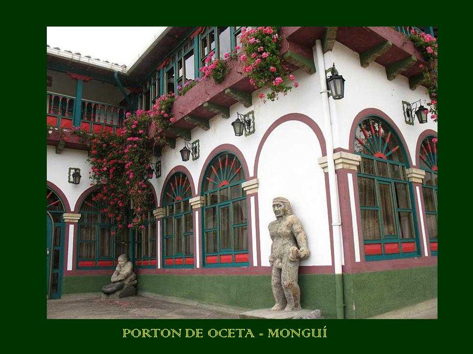 PORTON DE OCETA - MONGUÍ