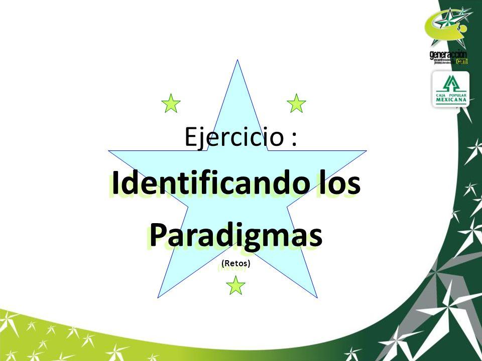 Identificando los Paradigmas