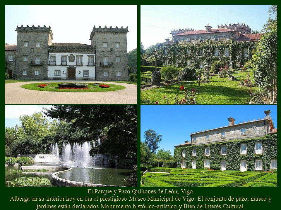 El Parque y Pazo Quiñones de León, Vigo