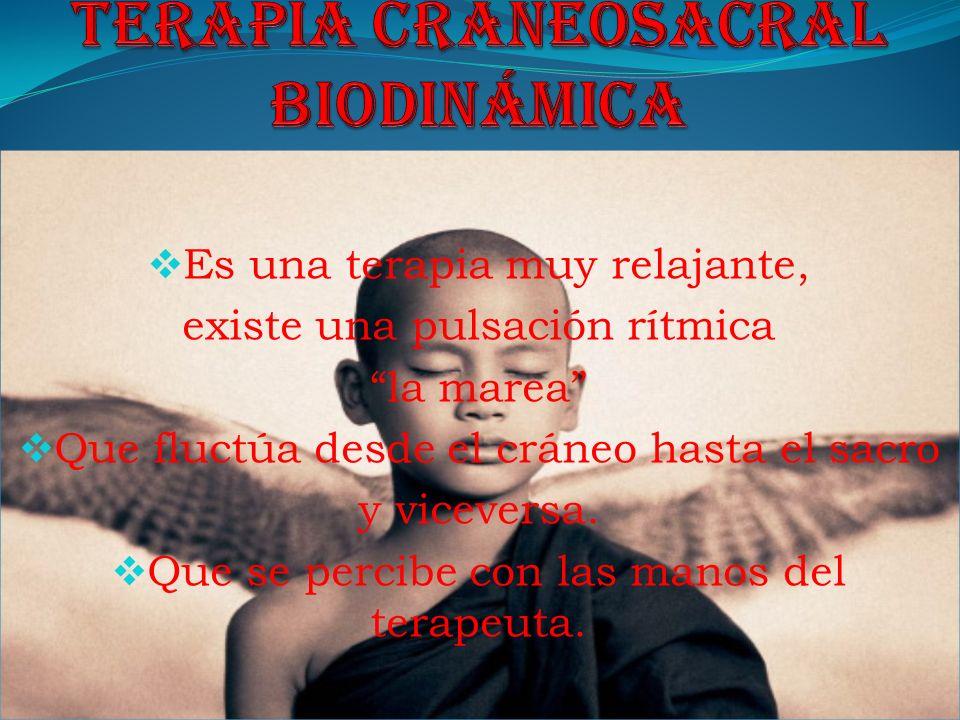 Terapia craneosacral biodinámica