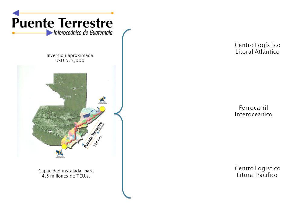 Litoral Atlántico Ferrocarril Interoceánico Centro Logístico