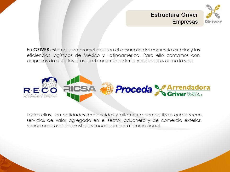 Estructura Griver Empresas