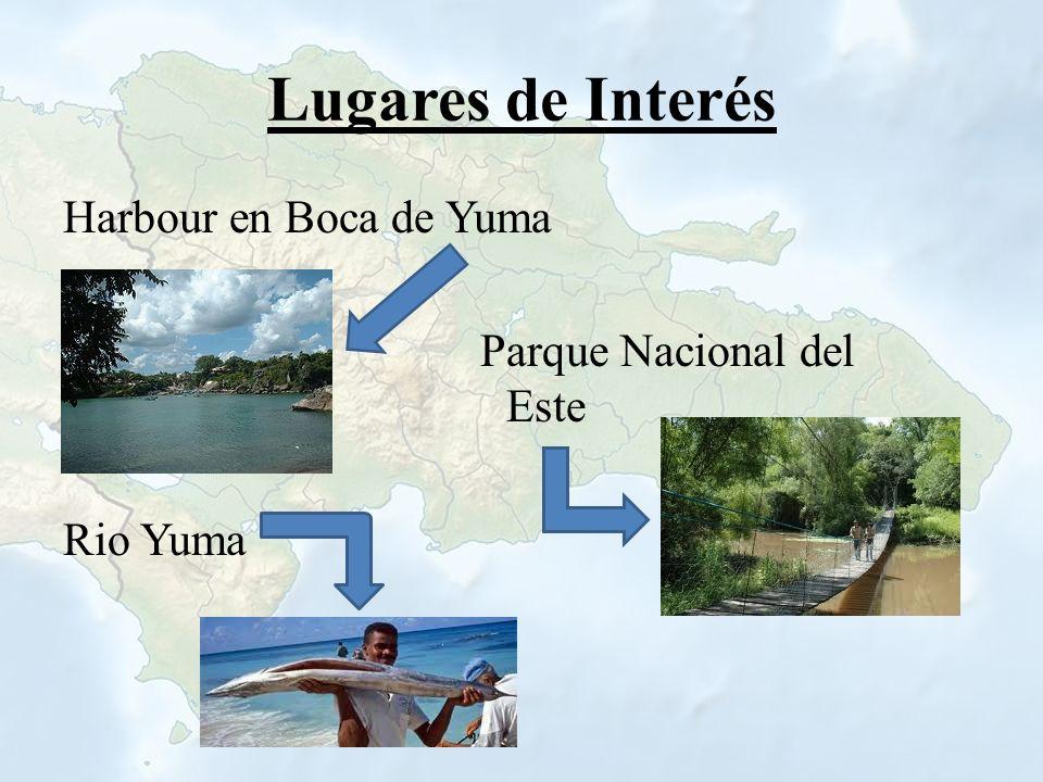 Lugares de Interés Harbour en Boca de Yuma Parque Nacional del Este