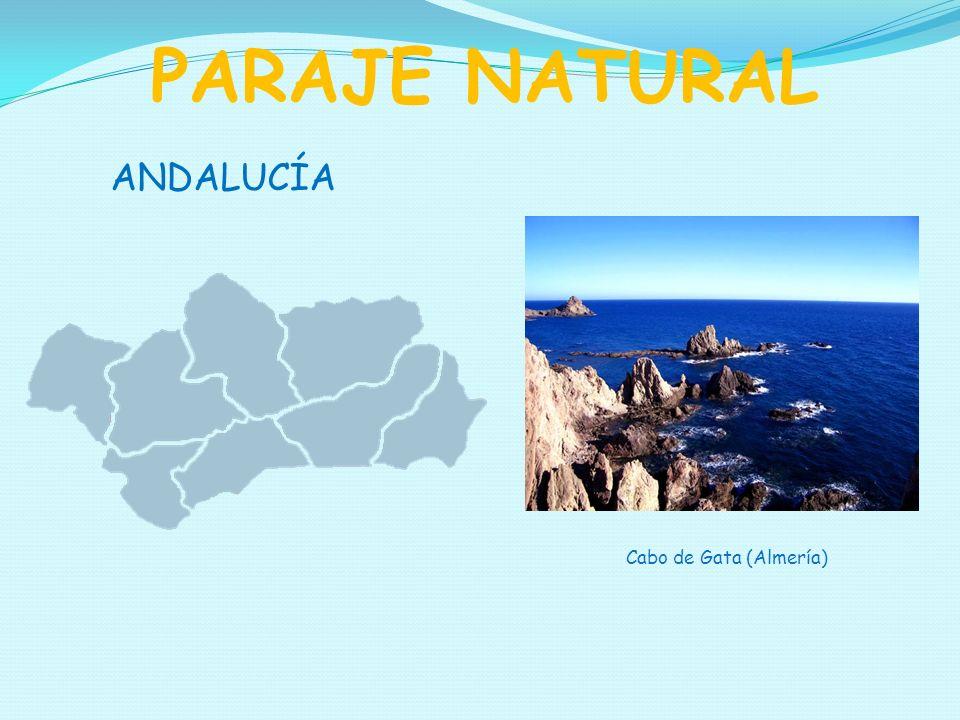 PARAJE NATURAL ANDALUCÍA Cabo de Gata (Almería)