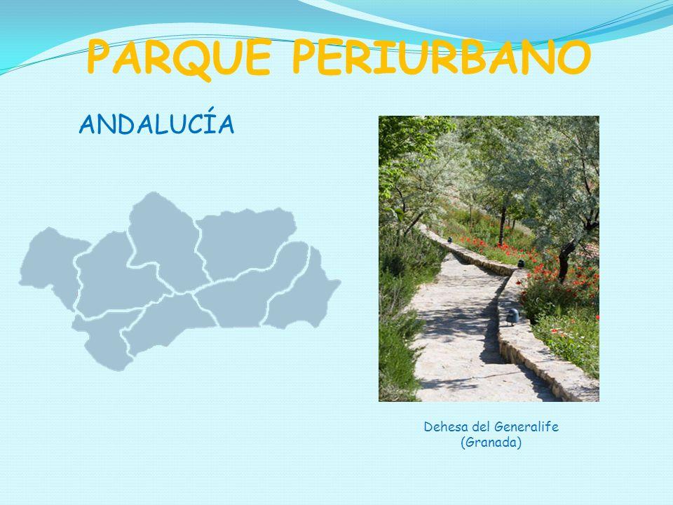 PARQUE PERIURBANO ANDALUCÍA Dehesa del Generalife (Granada)