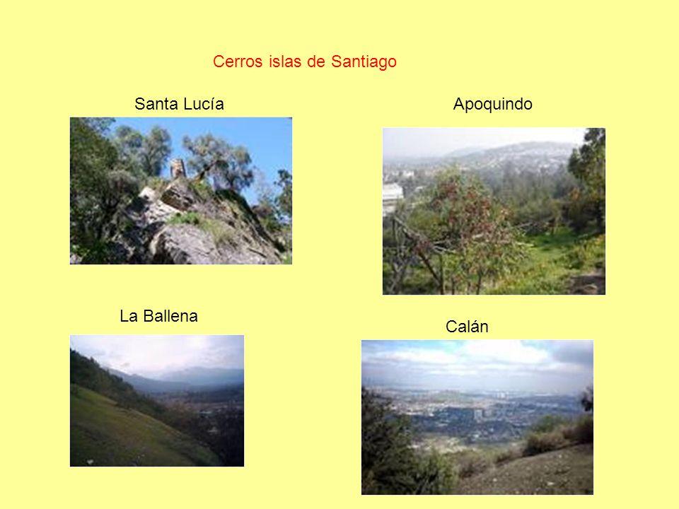 Cerros islas de Santiago