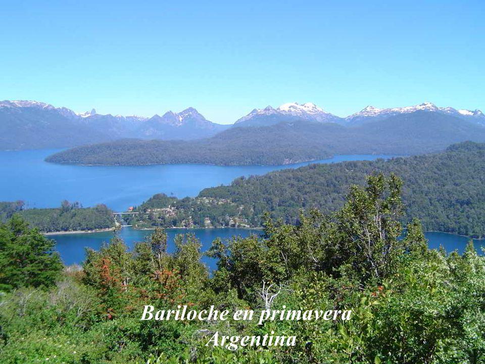 Bariloche en primavera Argentina