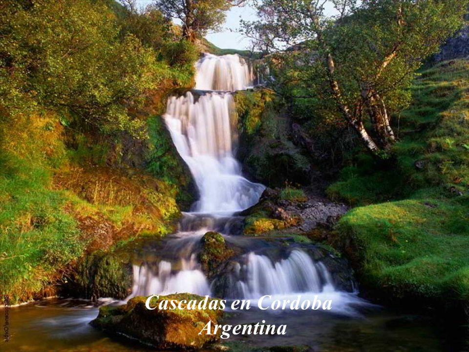 Cascadas en Cordoba Argentina