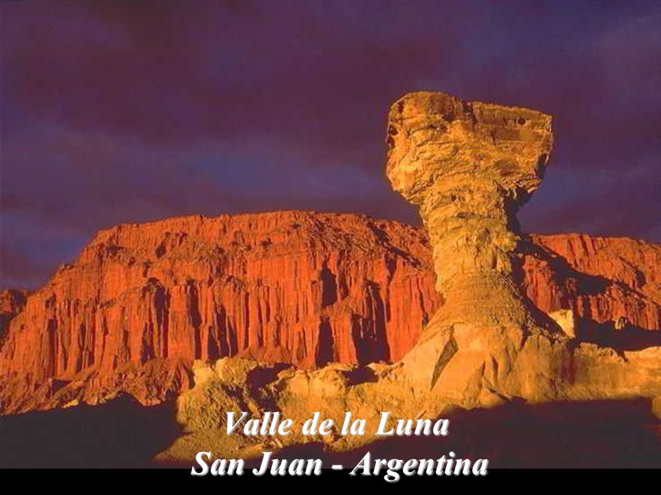 Valle de la Luna San Juan - Argentina
