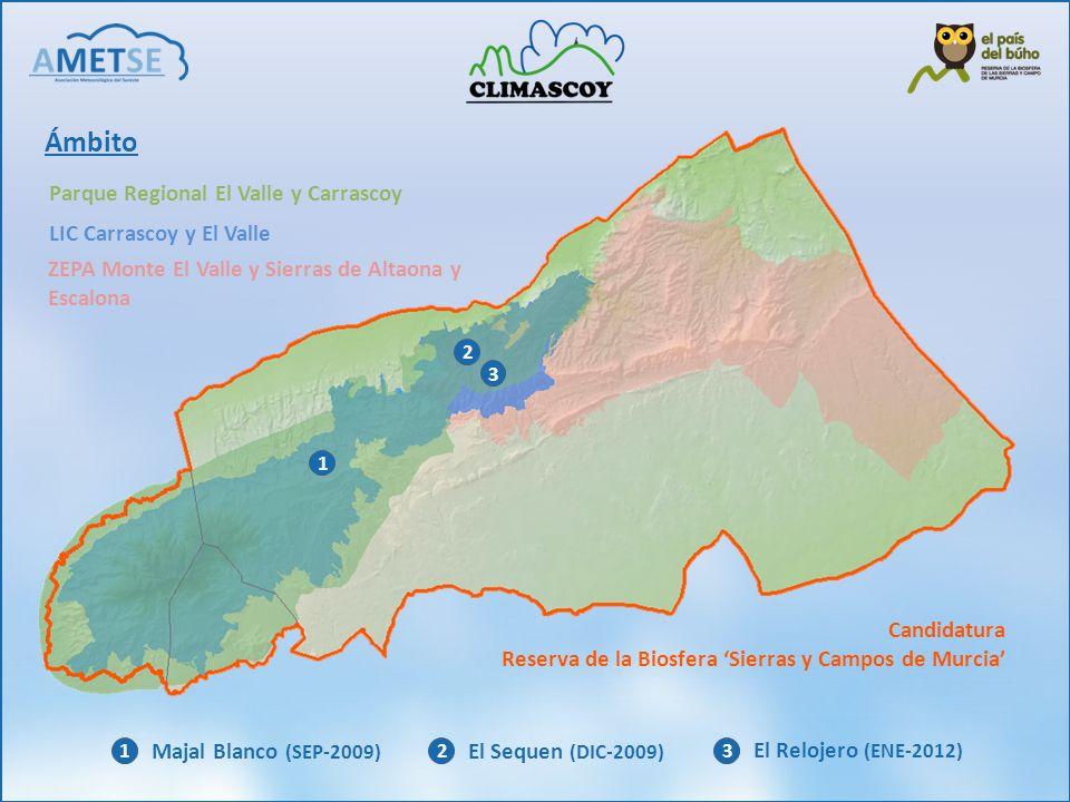 Ámbito Parque Regional El Valle y Carrascoy LIC Carrascoy y El Valle