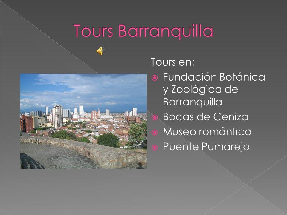 Tours Barranquilla Tours en:
