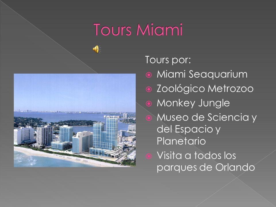 Tours Miami Tours por: Miami Seaquarium Zoológico Metrozoo