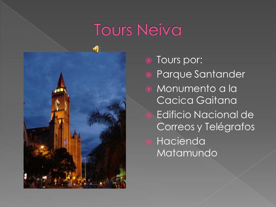 Tours Neiva Tours por: Parque Santander Monumento a la Cacica Gaitana