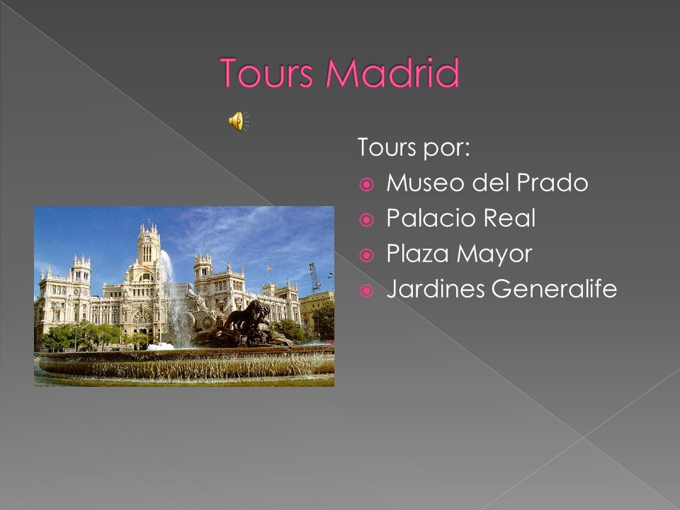 Tours Madrid Tours por: Museo del Prado Palacio Real Plaza Mayor