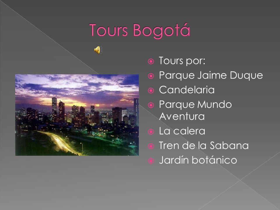 Tours Bogotá Tours por: Parque Jaime Duque Candelaria