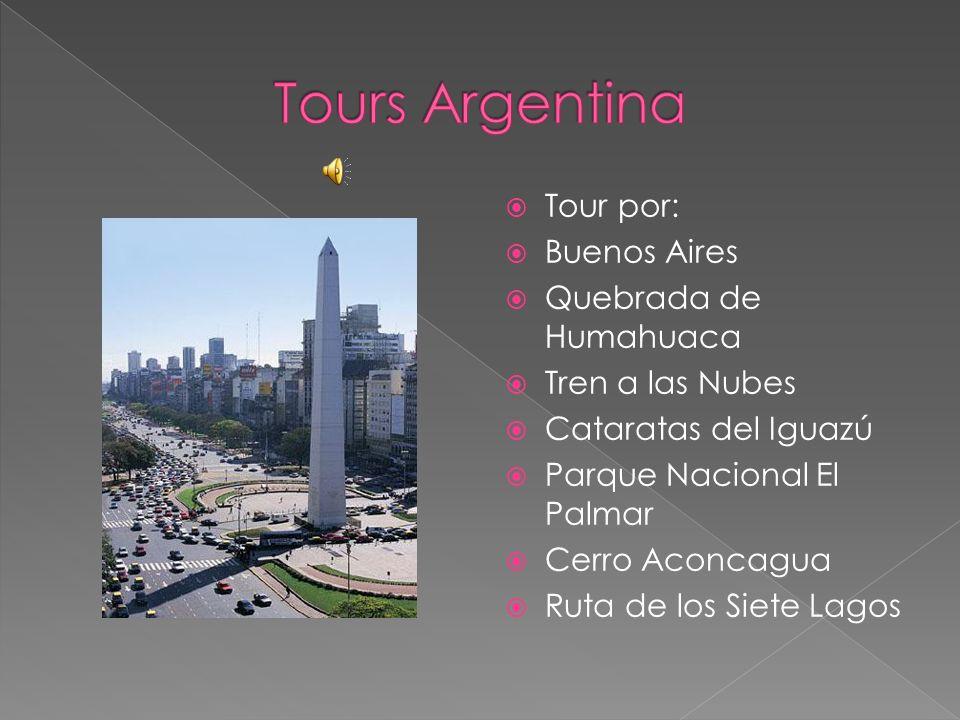 Tours Argentina Tour por: Buenos Aires Quebrada de Humahuaca