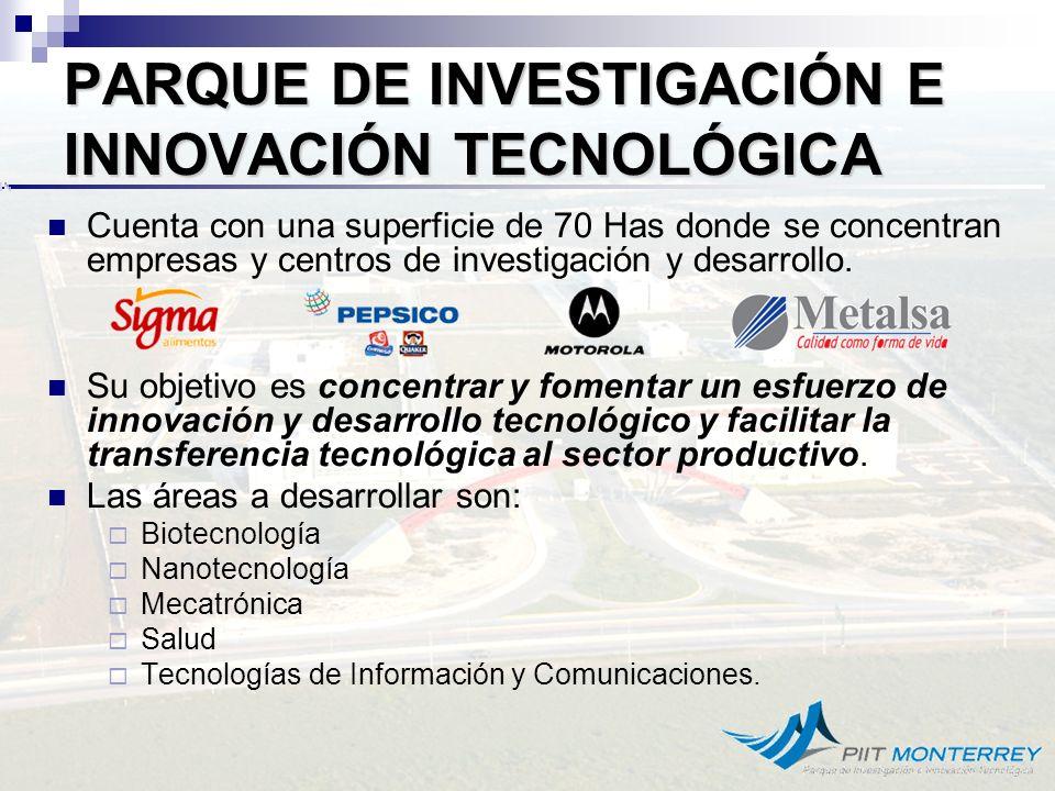 PARQUE DE INVESTIGACIÓN E INNOVACIÓN TECNOLÓGICA