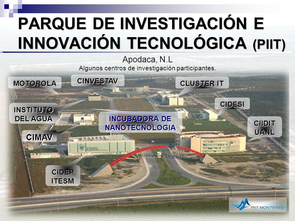 PARQUE DE INVESTIGACIÓN E INNOVACIÓN TECNOLÓGICA (PIIT)