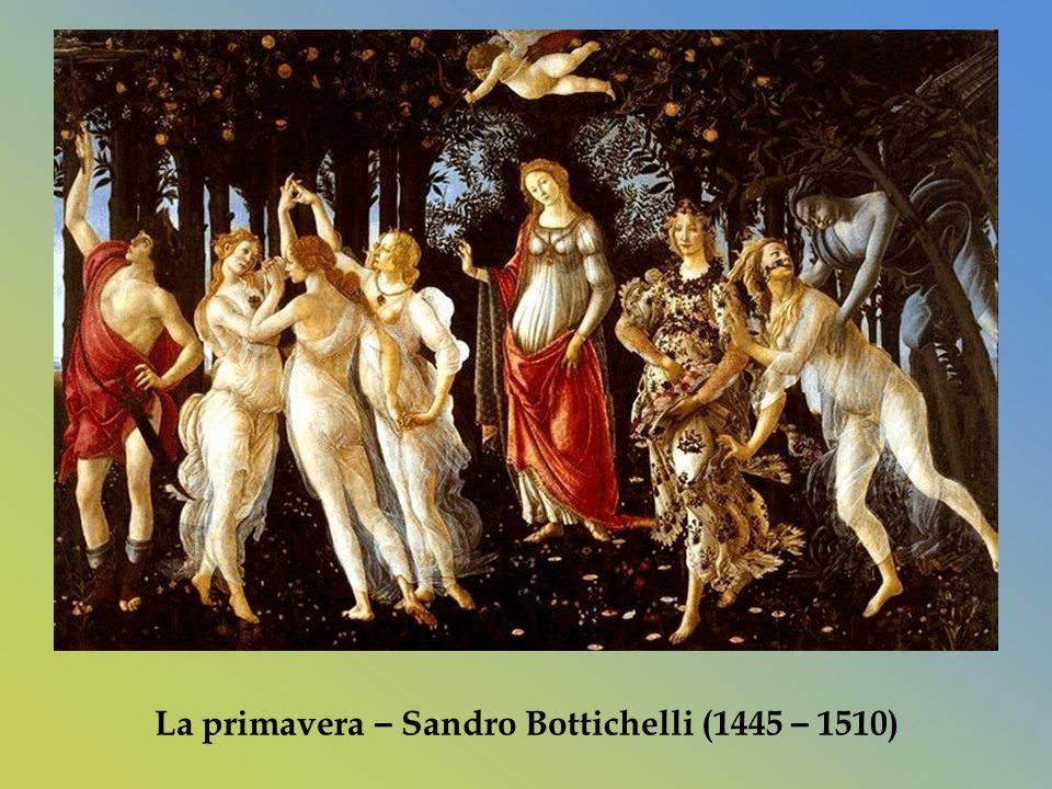 La primavera – Sandro Bottichelli (1445 – 1510)