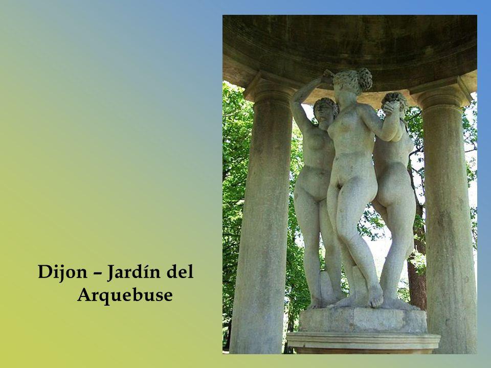 Dijon – Jardín del Arquebuse