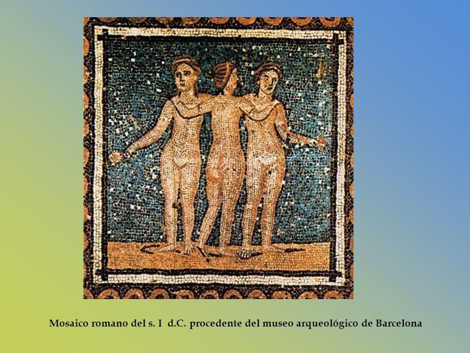 Mosaico romano del s. I d. C