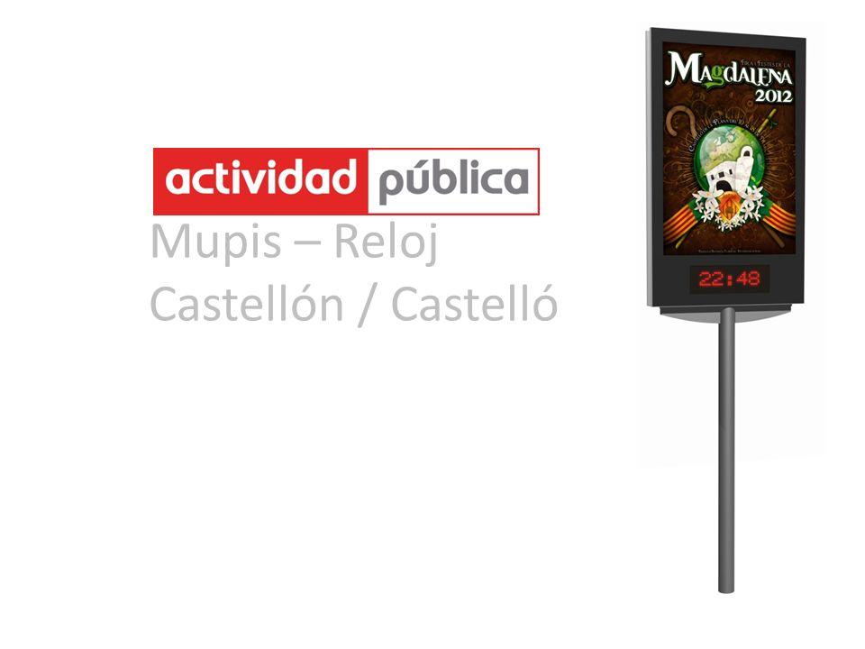Mupis – Reloj Castellón / Castelló