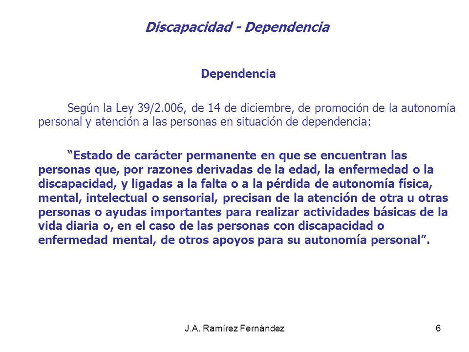 Discapacidad - Dependencia