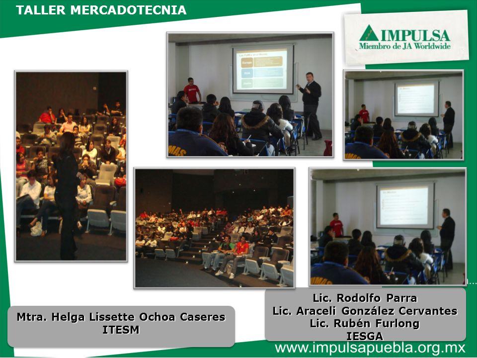 Lic. Araceli González Cervantes Mtra. Helga Lissette Ochoa Caseres