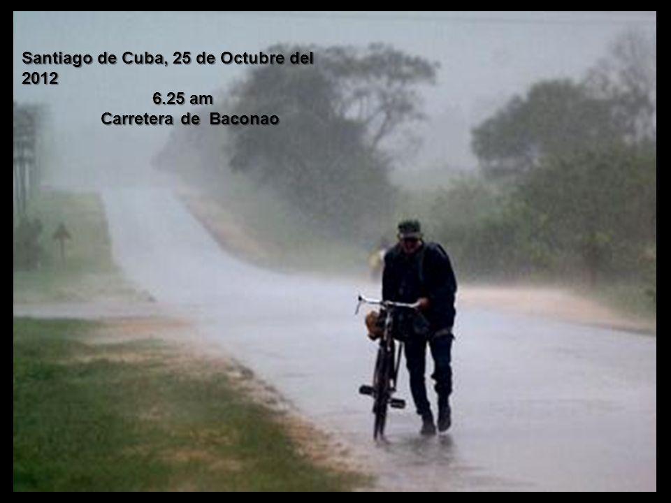 Santiago de Cuba, 25 de Octubre del 2012