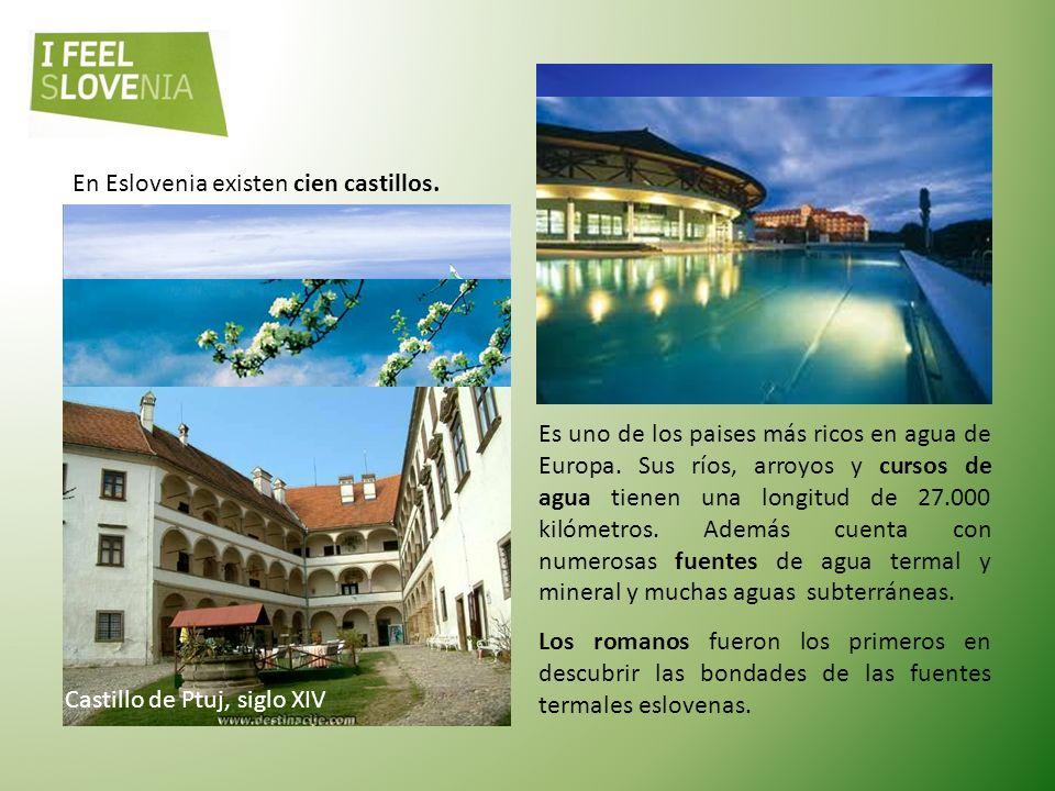 En Eslovenia existen cien castillos.
