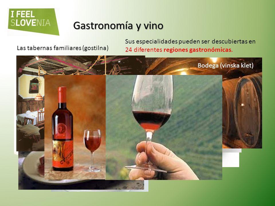 Gastronomía y vino Sus especialidades pueden ser descubiertas en 24 diferentes regiones gastronómicas.
